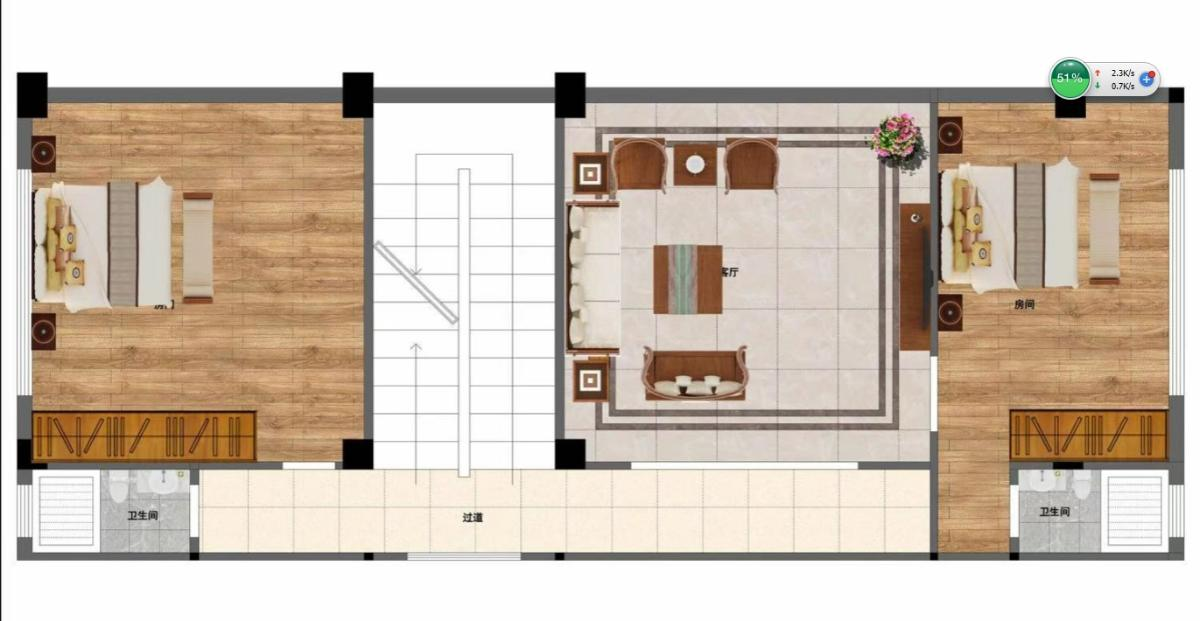 農村樓房室內格局圖