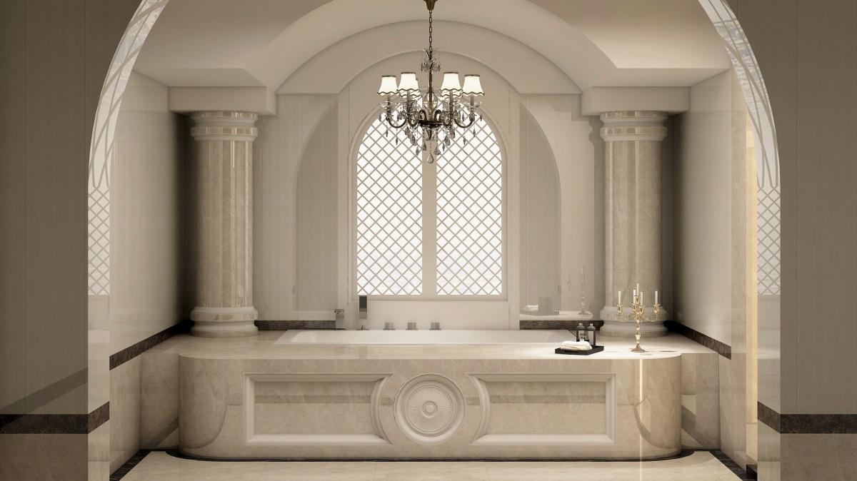 【课程亮点】 ◆ 掌握弧形门洞,弧形楼板,欧式卫浴造型,吊顶背景墙